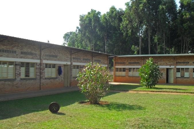 The school buildings