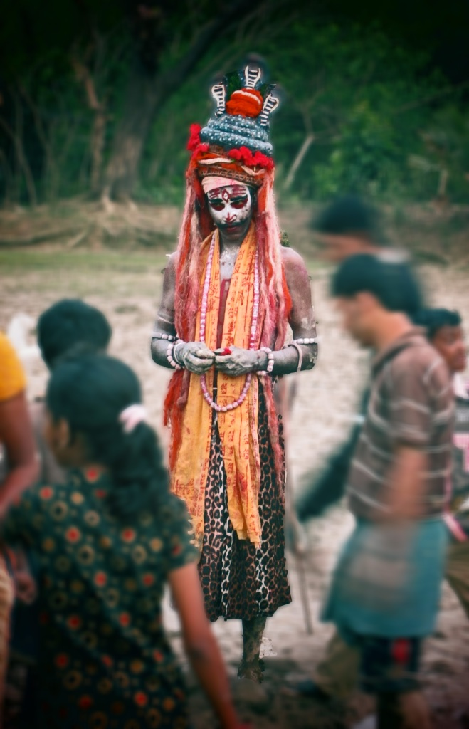 The mysterious Hindu devotee