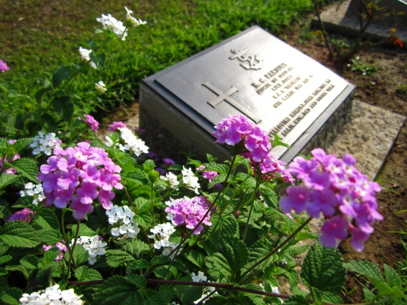 Graves are meticulously cared for