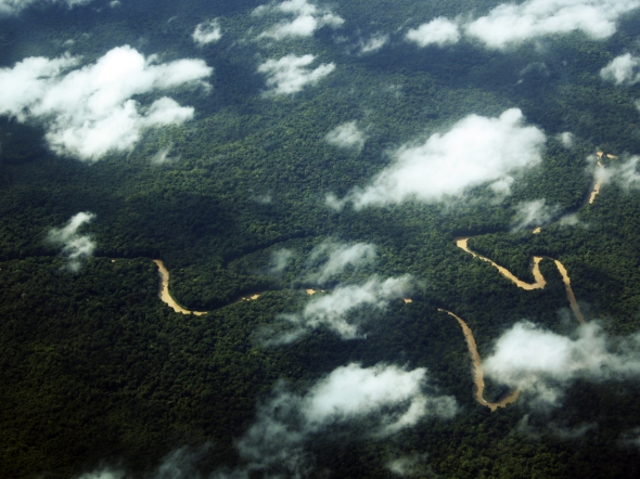 Guyana from the air