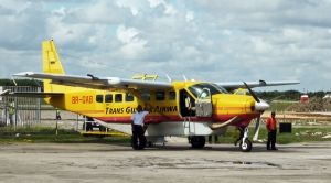 The plane to Port Kaituma