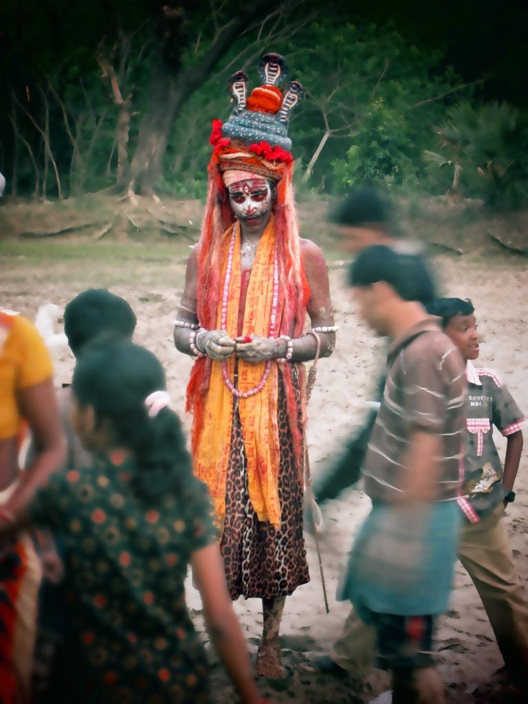 Devotee - Charak Puja