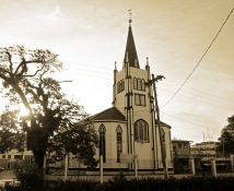 St Andrew's Kirk, Presbyterian Church - The oldest building in Guyana, built in 1818.