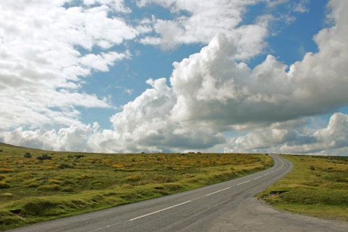 Dartmoor road